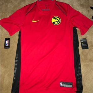 Other - Atlanta Hawks warm up shooter shirt